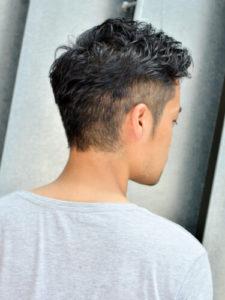 メンズヘアスタイル