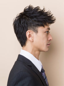 メンズショートヘアー