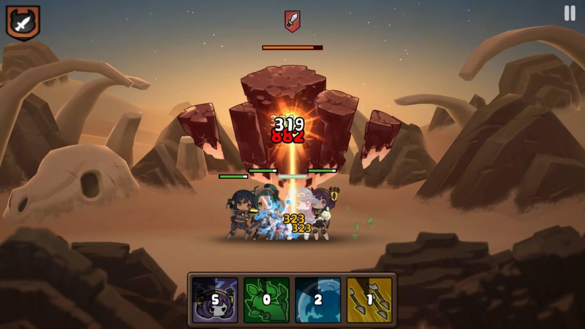 勇者の飯戦闘画面